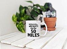 Kaffeebecher für Ultramarathonläufer