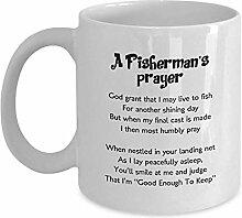 Kaffeebecher Gebetsbecher Eines Fischers