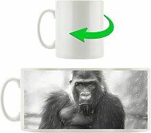 Kaffeebecher Gelangweilter Gorilla East Urban Home