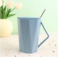 Kaffeebecher Geometrische Muster-Art-Becher, der