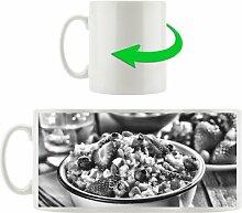 Kaffeebecher Gesundes Beeren Müsli