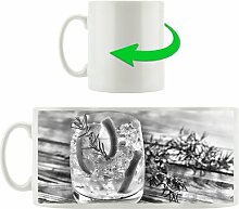 Kaffeebecher Gin Tonic, lemon, Drinks on ice