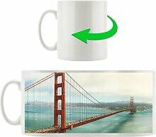 Kaffeebecher Golden Gate Bridge in San Francisco