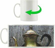 Kaffeebecher Goldene Teekanne