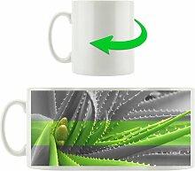 Kaffeebecher Grüne Aloe Vera Pflanze