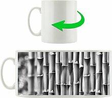 Kaffeebecher Grüner frischer Bambus East Urban