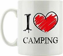 Kaffeebecher I Love Camping