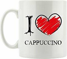 Kaffeebecher I Love Cappuccino