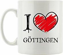 Kaffeebecher I Love Göttingen
