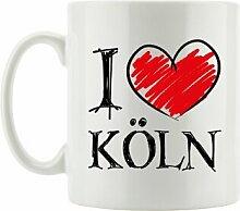 Kaffeebecher I Love Köln