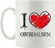 Kaffeebecher I Love Oberhausen