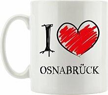 Kaffeebecher I Love Osnabrück