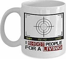 Kaffeebecher Ich Schieße Leute Für Eine Lebende