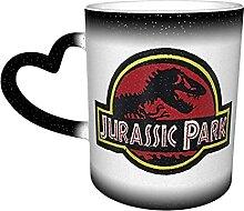 Kaffeebecher, Jurassic Park-Logo,