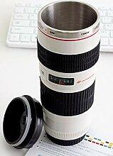 Kaffeebecher, Kamera-objektiv-Kaffeetassen Mit