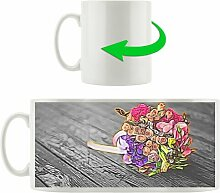 Kaffeebecher Kleiner Blumenstrauß