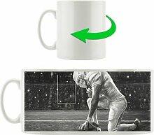 Kaffeebecher Knieender Football-Spieler