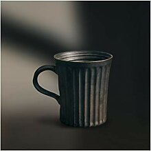 Kaffeebecher Kreative Retro gestreifte