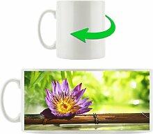 KaffeebecherLotus und Bambus