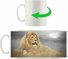 Kaffeebecher Mächtiger Löwe