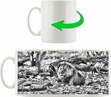 Kaffeebecher Majestätischer Löwe in