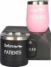 "Kaffeebecher mit Aufschrift ""Before Patients"