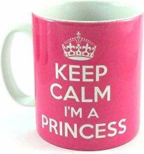 Kaffeebecher mit Aufschrift Keep Calm I'm A