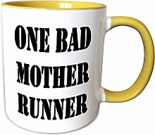 "Kaffeebecher mit Aufschrift ""One Bad Mother"