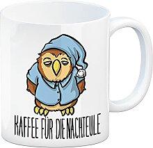 Kaffeebecher mit lustigem Motiv - Kaffee für die