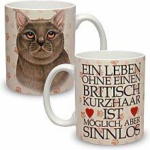 Kaffeebecher mit Motiv Große XXL Tasse British