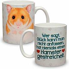 Kaffeebecher mit Motiv Große XXL Tasse Hamster