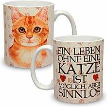 Kaffeebecher mit Motiv Große XXL Tasse Ingwer