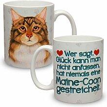 Kaffeebecher mit Motiv Große XXL Tasse Maine Coon