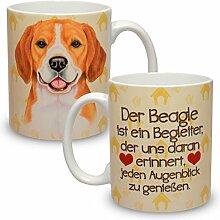 Kaffeebecher mit Motiv Hund Große XXL Tasse Beagle