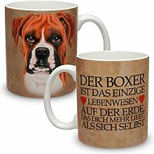 Kaffeebecher mit Motiv Hund Große XXL Tasse Boxer