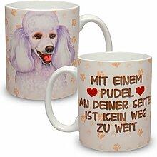 Kaffeebecher mit Motiv Hund Große XXL Tasse Pudel
