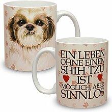 Kaffeebecher mit Motiv Hund Große XXL Tasse Shih