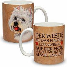 Kaffeebecher mit Motiv Hund Große XXL Tasse Westie