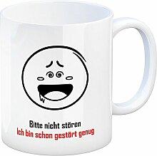 Kaffeebecher mit Spruch: Bitte nicht stören Ich