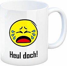 Kaffeebecher mit Spruch: Heul doch! Tasse