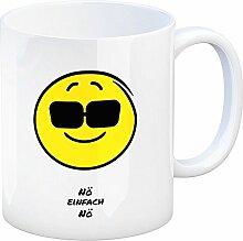 Kaffeebecher mit Spruch: Nö einfach Nö Tasse