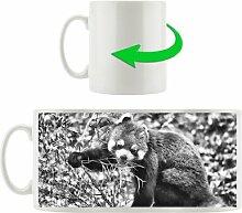 Kaffeebecher Niedlicher roter Panda