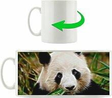 Kaffeebecher Panda kaut Bambus East Urban Home