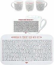 Kaffeebecher PERFEKT mit passendem