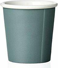 Kaffeebecher Porzellan mit Matt Finishing ohne