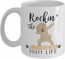 Kaffeebecher, Rockin 'The Labrador Retriever