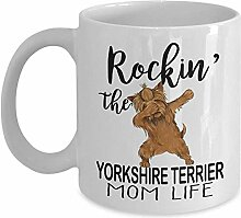 Kaffeebecher, Rockin 'The Yorkshire Terrier