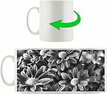 Kaffeebecher Rote Blüten
