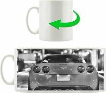 Kaffeebecher Rote Corvette