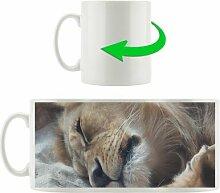 Kaffeebecher Schlafender Löwe